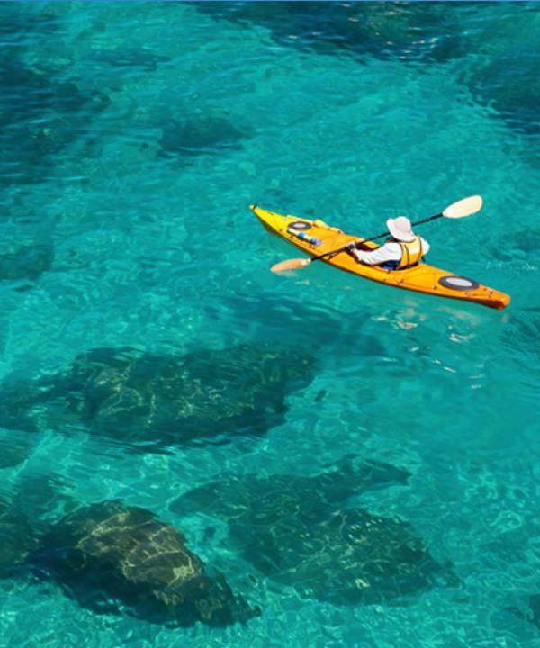 Kayaking in South Lake Tahoe