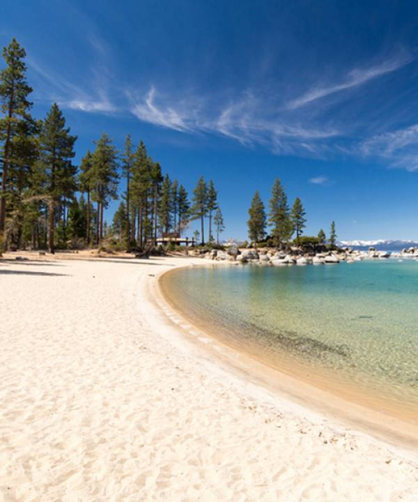 White Sand Beaches Lake Tahoe