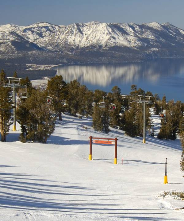 View of Lake Tahoe from Heavenly Ski Resort