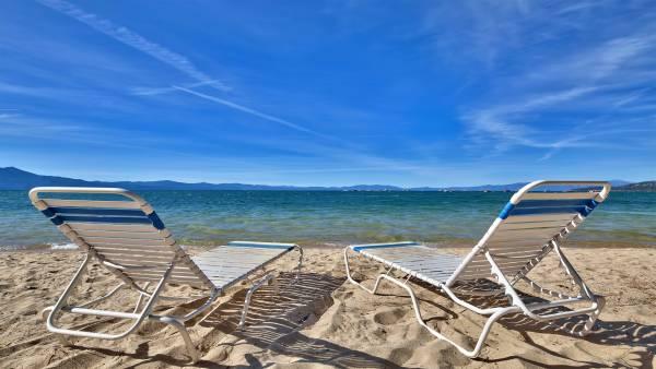 South Lake Tahoe Beach