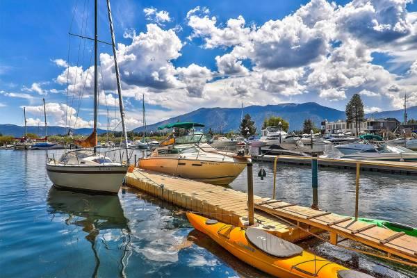 Tahoe Keys Boat Dock