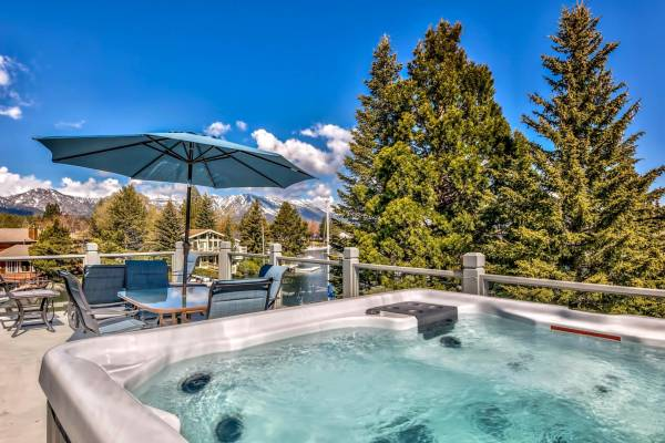 South Lake Tahoe Vacation Rental Hot Tub