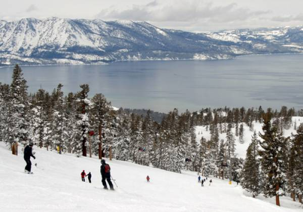 Skiing in South Lake Tahoe