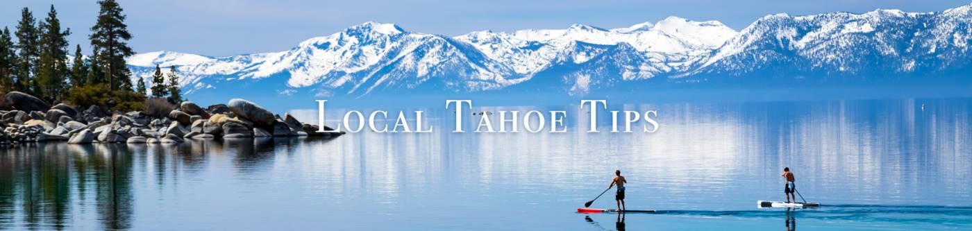 Lake Tahoe Paddle Boarding